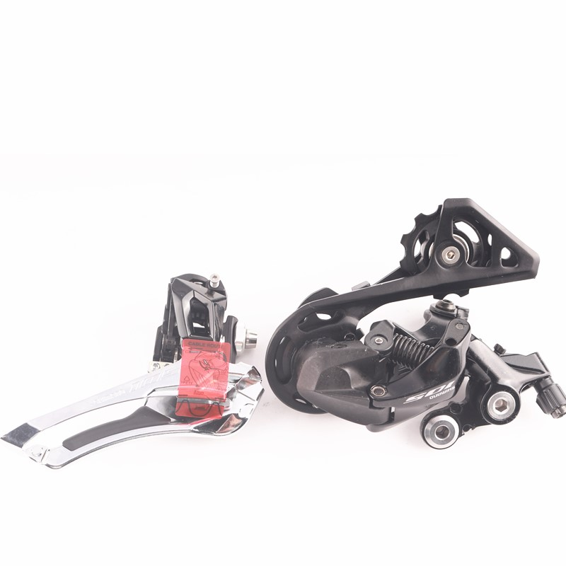 Shimano 105 R7000 2 x 11 Speed Groupset Kit Shifter Front Rear Derailleur SS GS