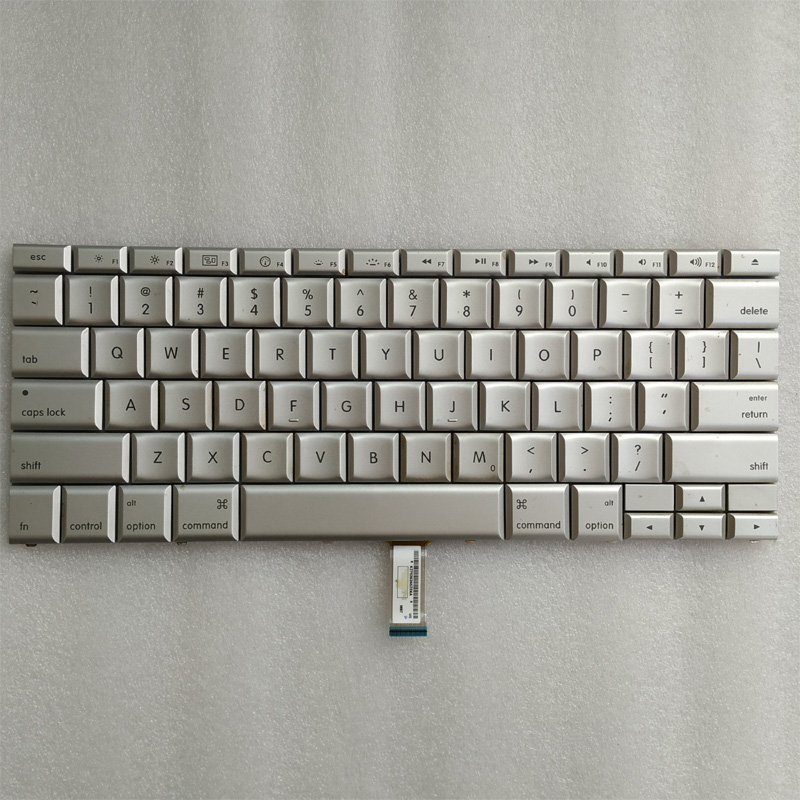 Free Shipping!!! 1PC 80%-90%New Laptop Keyboard Replacement For Macbook Pro A1226 A1260 US