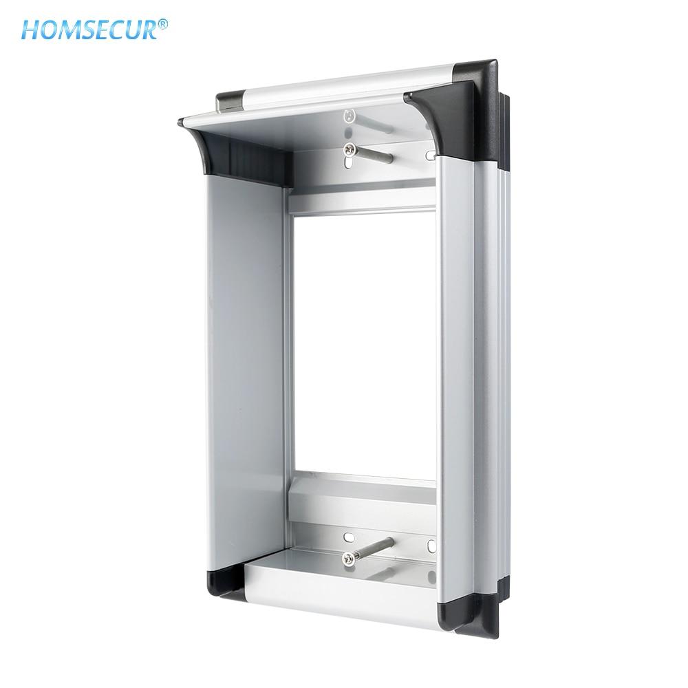 HOMSECUR Surface Mount Aluminum Alloy Box For HOMSECUR Doorphone XC061-2/520C-2 Outdoor Camera Door Station