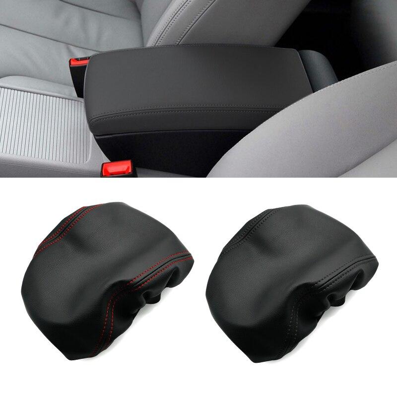 Для VW Passat B6 2005 2006 2007 2008 2009, внутренняя центральная консоль из микрофибры и кожи, крышка подлокотника, накладка, отделка