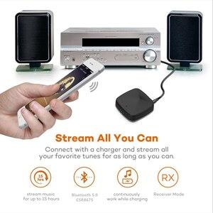 Image 4 - CSR8675 receptor y transmisor de Audio Bluetooth 5,0 adaptador inalámbrico de música Aptx HD/LL RCA/3,5 MM AUX Jack de baja latencia para TV, PC y coche