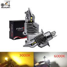 Jiamen истребитель h4 9003 hb2 led автомобилей головной светильник