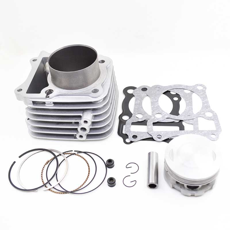 Motorcycle Cylinder Kit 65.5mm Big Bore 165c'c for Suzuki GN125 GS125 EN125 EN125HU Modified Engine K157FMI image