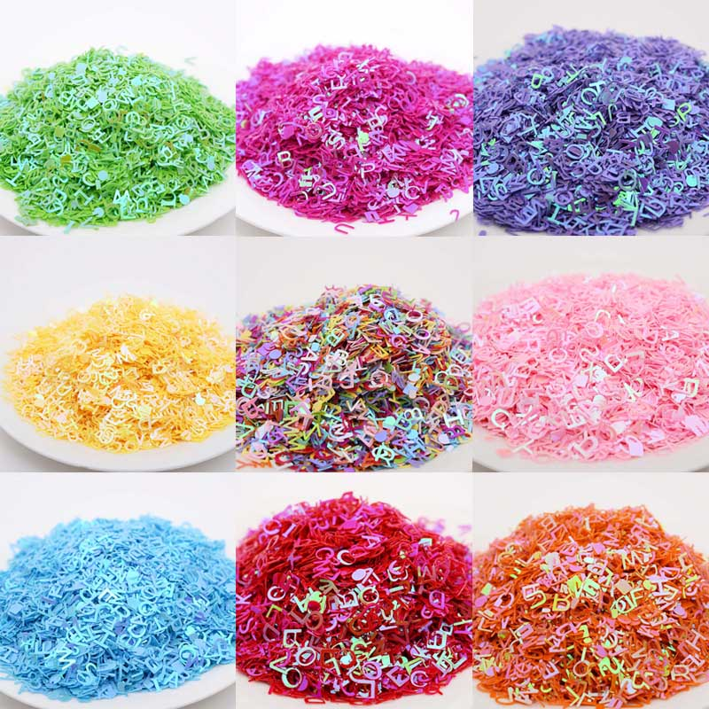 26 letters beads crystal mud accessories nails sequins clothing apparel accessories wedding party decoration materials