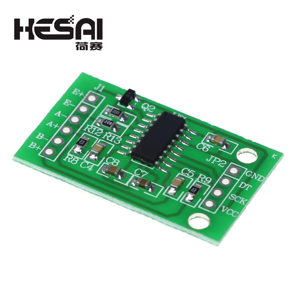 HX711 Weighing Pressure Sensor 24-bit Precision A/D Module+34mmX34mm 50Kg  Load Cell Resistance Strain Half Bridge