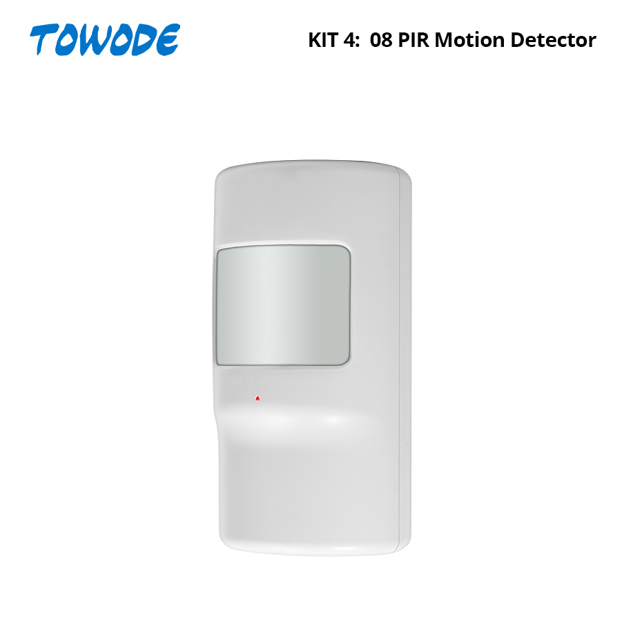 Towode DIY WIFI 3G GSM GPRS Drahtlose APP Fernbedienung Home Security Alarm System 1080P HD Kamera EN RU ES PL DE Stimme
