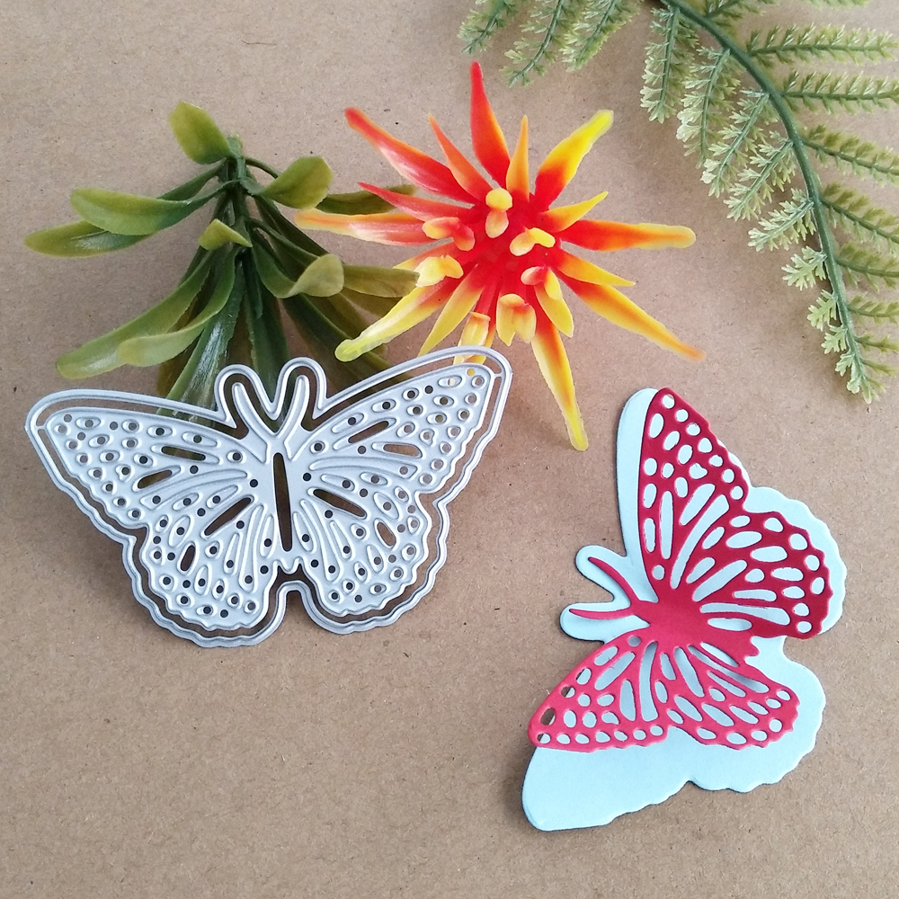 Butterfly Layer Metal Cutting Dies Stencils For Scrapbooking Very Pretty Die