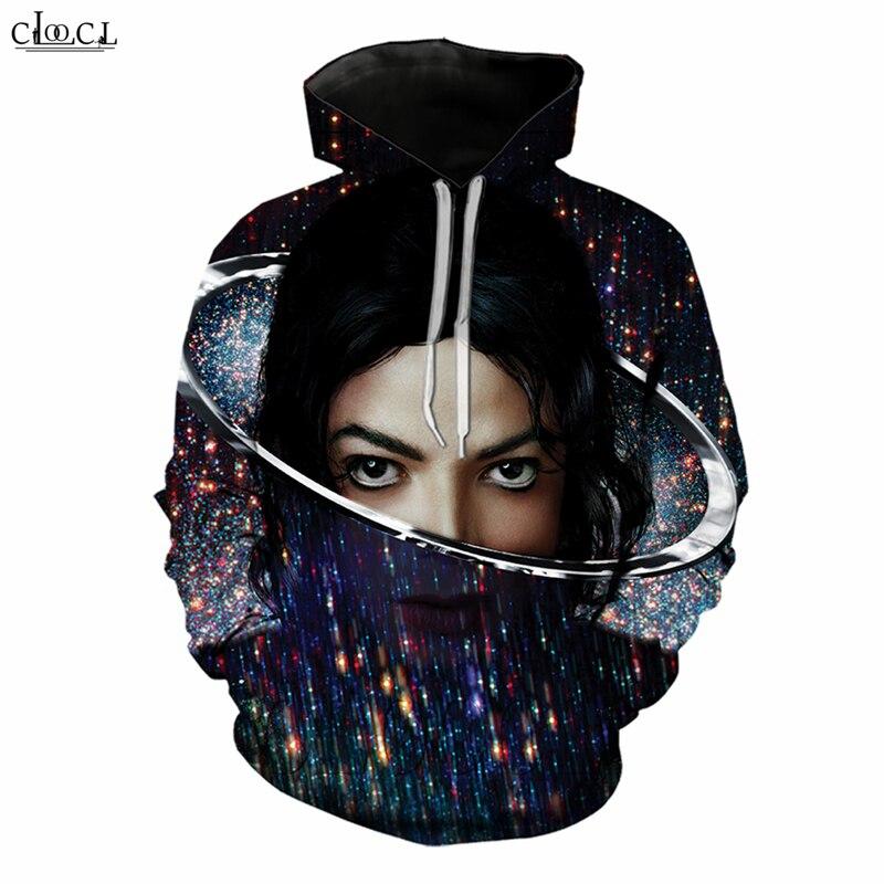 DJ Singer Hip-hop Michael Jackson Men Hoodies 3D Print Long Sleeve Men/Women Hoodie Casual Streetwear Tops B265
