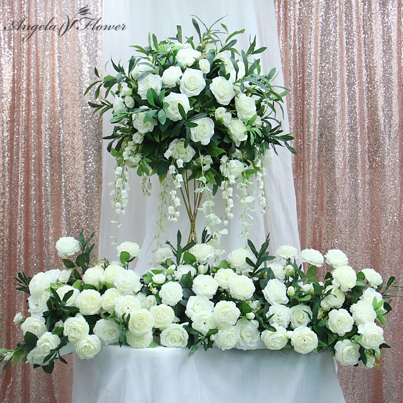 Top 8 Most Popular Table Flower Wedding Bouquet Large Ideas And Get Free Shipping A187