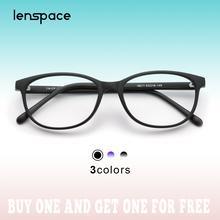 Lenspace okulary ramka kobiety komputerowe okulary niebieskie światło okulary okulary krótkowzroczność oprawki optyczne okulary okulary 2020 tanie tanio WOMEN Z tworzywa sztucznego Stałe 18211 FRAMES Okulary akcesoria Women s eyeglasses frame Oval Classic Fashion Glasses
