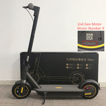"Patinete eléctrico inteligente plegable 2020 Original Ninebot Max G30 patinete 10 ""30 km/h 65km rango Hoverboard freno Doble"