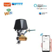 Akıllı su vanası Wifi kontrol su/gaz kapatma valfi APP uzaktan kumanda zamanlama kontrol için otomatik vana mutfak bahçe çiftlik