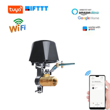 Smart Water Valve Wifi Control Water/Gas Shut Off Valve APP Remote Timing Controler Automatic Valve for Kitchen Garden Farm