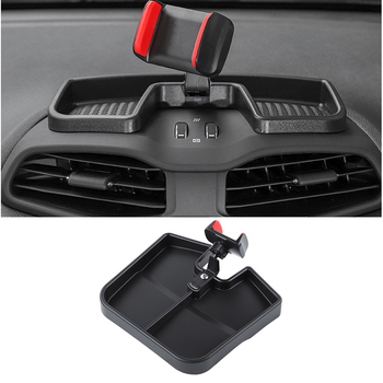 Car Bracket Center Console GPS Navigation For Jeep Renegade 2015+ Multi-Function Car Phone Holder Interior Accessories Black
