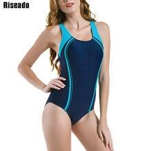 Riseado stroje kąpielowe dla kobiet konkurencyjne stroje kąpielowe damskie stroje kąpielowe jednoczęściowe 2020 Patchwork Racer powrót kostiumy kąpielowe