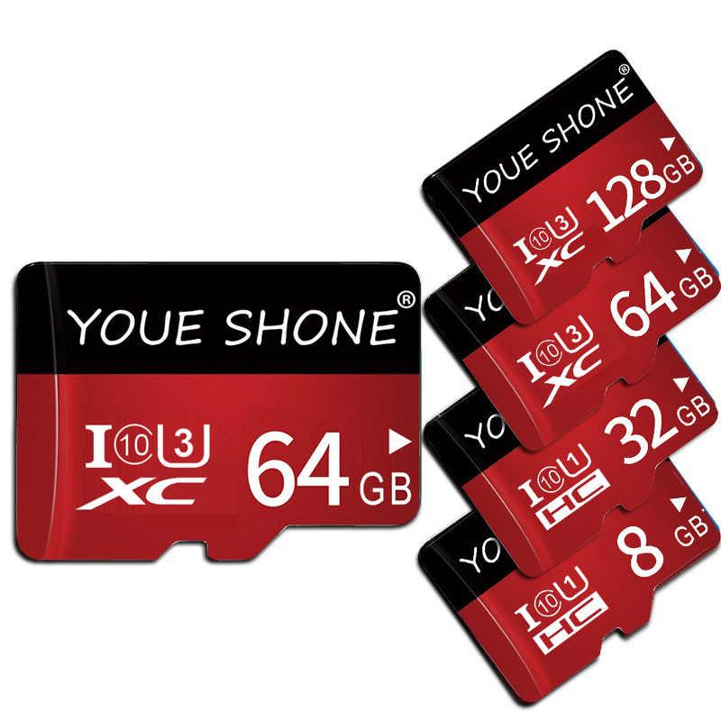 新メモリカードマイクロ SD カード class10 8 ギガバイト 16 ギガバイト 32 ギガバイト 64 ギガバイト 128 ギガバイト TF カードの Microsd ペンドライブフラッシュ usb メモリディスクのためのスマートフォン