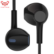 MUSTTRUE Original In-ear Earphone with Mic Headset Hifi Earbuds Stereo Earphones for iPhone 5 5s 6 6S Xiaomi fone de ouvido(China)