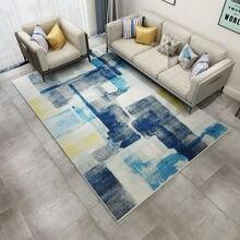 Нескользящий коврик с принтом напольные коврики китайский серый