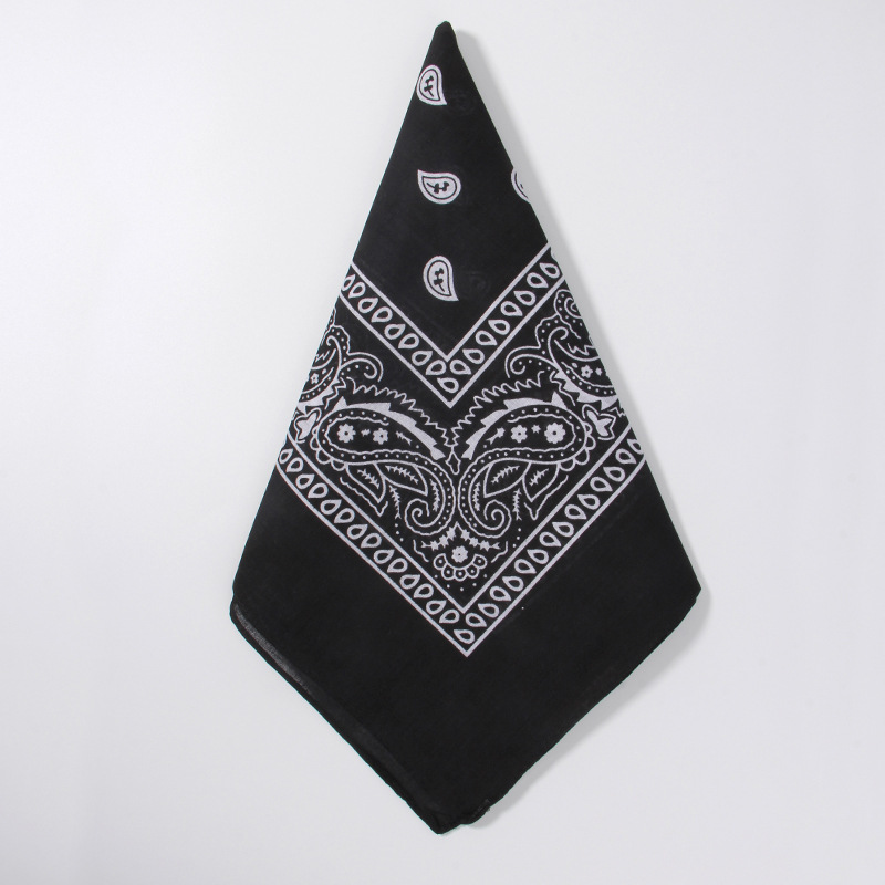 H5fac2ded42d044b8afa99dd91a9c661cb - 1PC Newest 100% Cotton Hip-hop Bandanas For Male Female Head Scarf Scarves Wristband Vintage Pocket Towel55*55cm