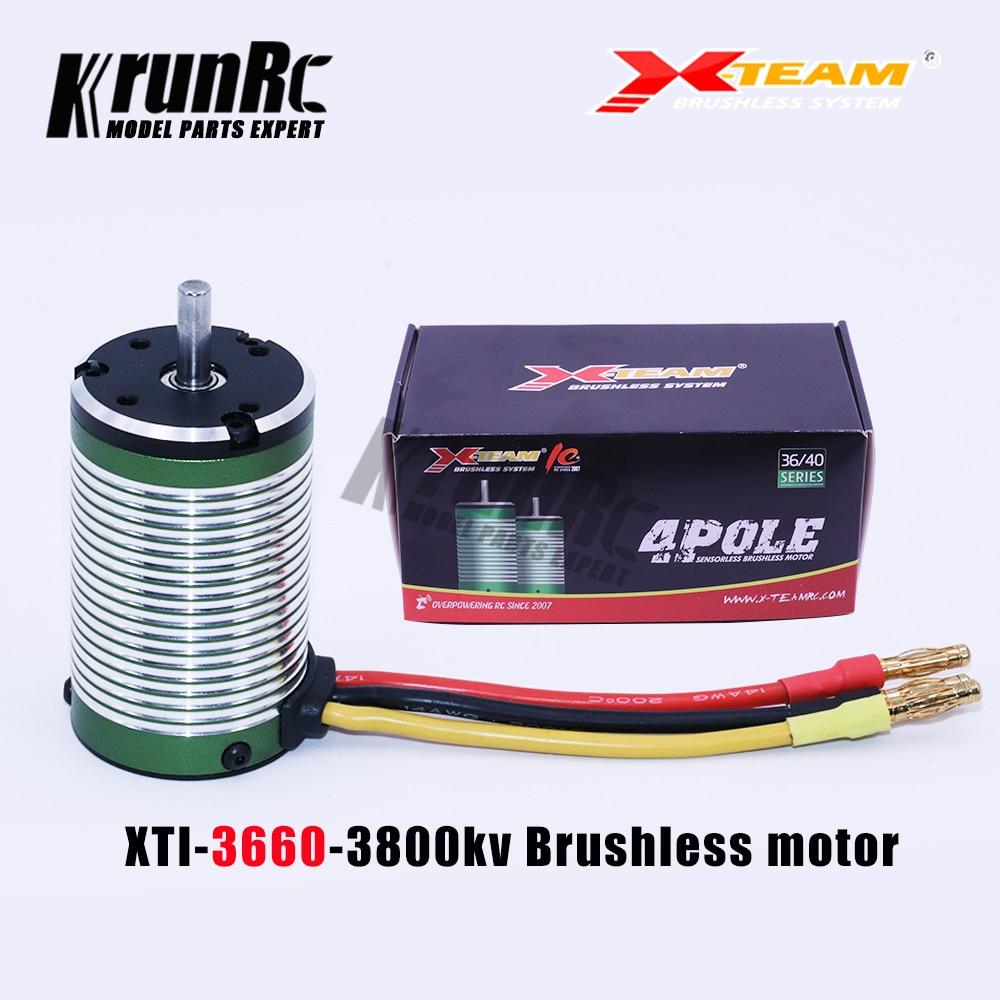 3674 1900KV Brushless Motor Fits RC Sensorless ESC 1//8 Truggy Buggy Touring Car