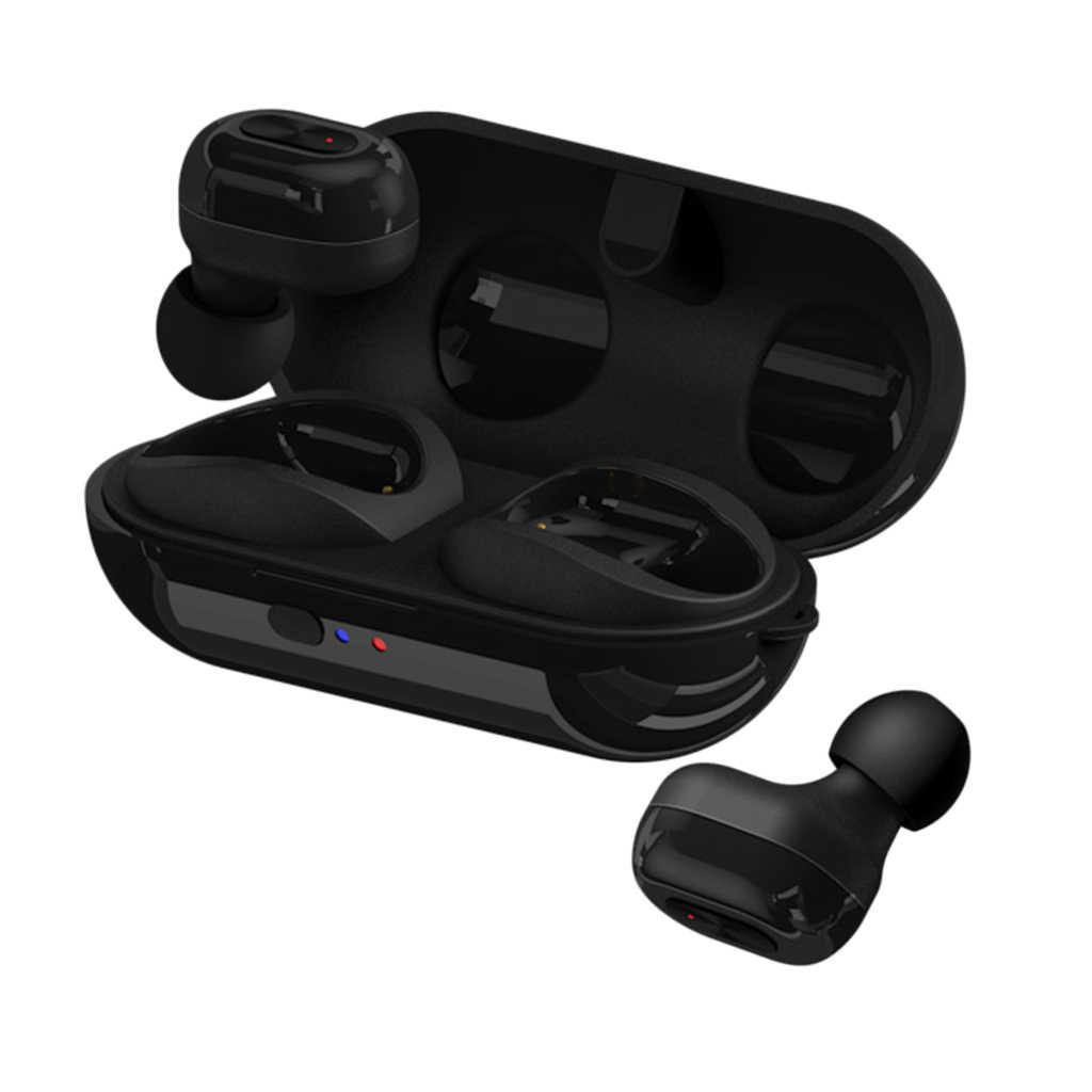 TWS ワイヤレス Bluetooth 5.0 ヘッドフォン HIFI スポーツイヤヘッドセットミニワイヤレスインナーイヤー型スポーツハンズフリーイヤホン