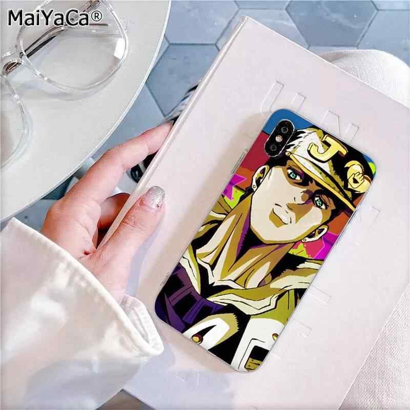 MaiYaCa JoJo Необычные Приключения JoJo аниме пользовательские чехлы для телефонов iphone SE 2020 11 pro XS MAX 8 7 6 6S Plus X 5 5S SE XR