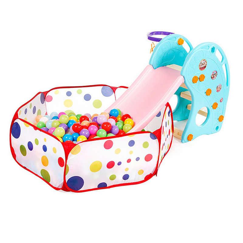 1 PC Nadar Divertido Colorido Plástico Macio Bola Oceano Brinquedo Seguro Baby Kid Pit E65D