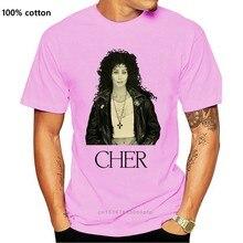 T-Shirt de chanteur américain Cher, classique rétro des années 70, pour hommes et femmes