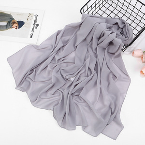 Image 5 - 2020 Đồng Màu Xuân Hè Lấp Lánh Khăn Voan Nữ Lắc Chân Nữ Chân Hồi Giáo Đầu Tóc Hijab Khăn Bufanda Mujer