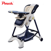 Pouch New Fashional Multifunctional Portable Children Highchairs Removable Baby Feeding Chair model k05 highchair for infant