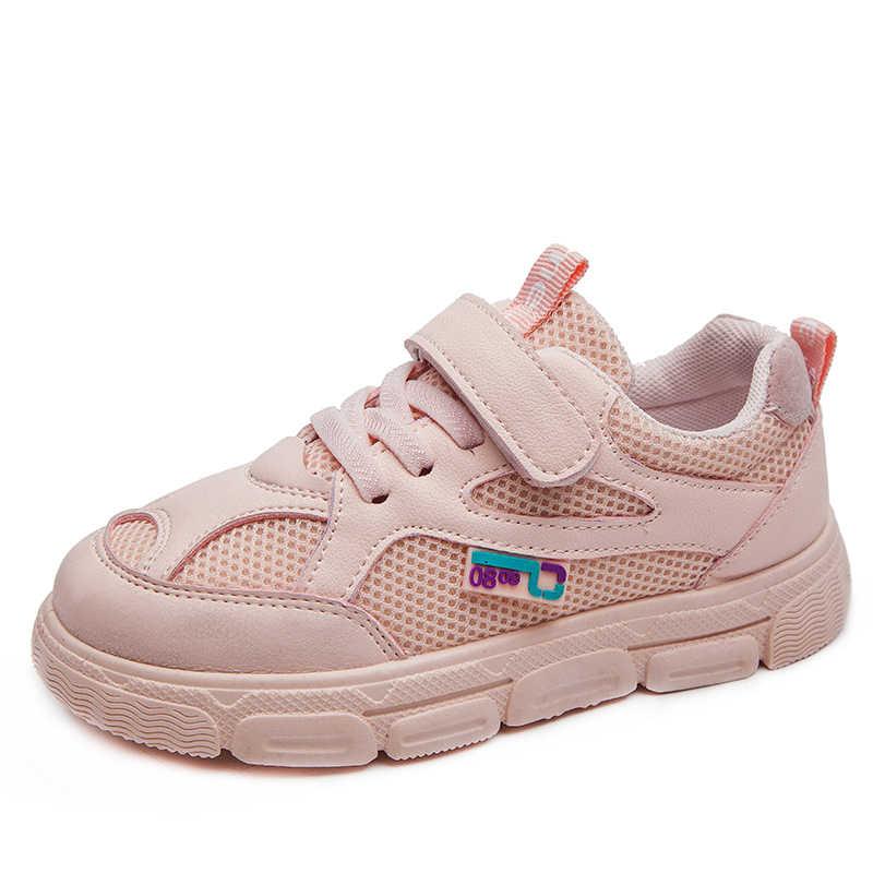 Dzieci Sneaker obuwie sportowe na co dzień chłopcy dzieci dziewczęta studenckie buty do biegania antypoślizgowe moda jesienne tłumienie SSJ022