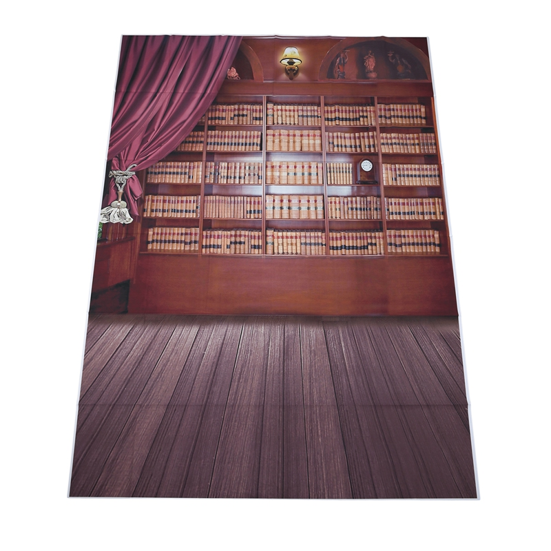 Library Books Photography Backdrops Photo Props Studio Background 5x7ft