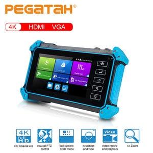 Тестер видеонаблюдения, 5-дюймовый, 4K, 8 мегапикселей, AHD CVI TVI SDI, камера, тестер CCTV, тестер AHD, тестер IPC, тестер безопасности, IP