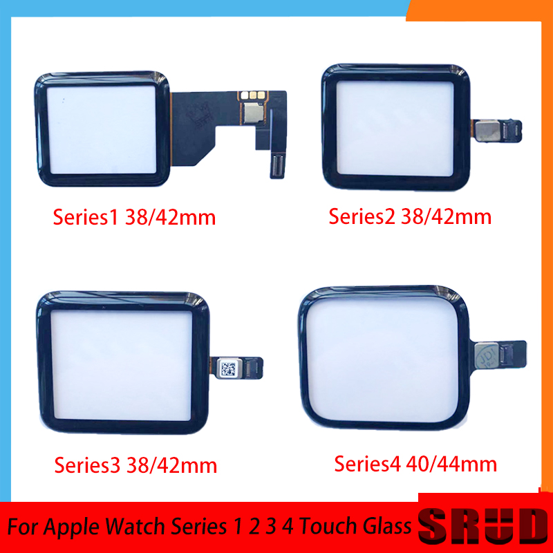 38mm 40mm <font><b>42mm</b></font> 44mm <font><b>Touch</b></font> <font><b>Screen</b></font> Digitizer Glass With OCA For <font><b>Apple</b></font> <font><b>Watch</b></font> Series 1 2 <font><b>3</b></font> 4 Gen Repiar <font><b>Replacement</b></font> image