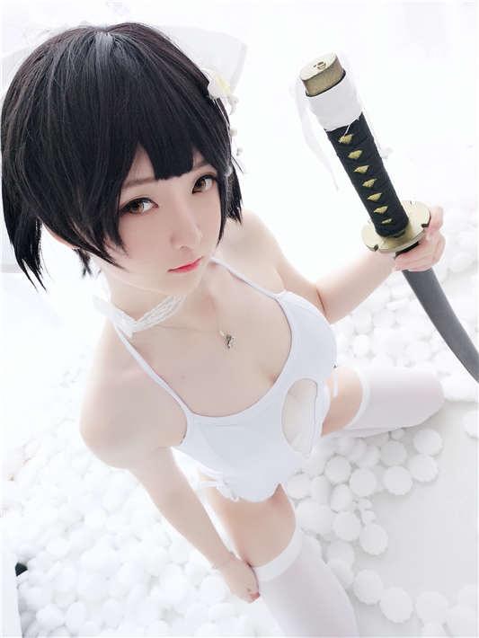 一小央泽-碧蓝航线爱宕 [19P/181MB]