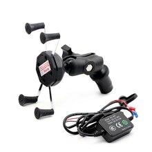 Phone Holder For SUZUKI GSX1300R HAYABUSA 08-20 GSXR 1000 05-08 GSX-R 600/750 01-05 Motorcycle GPS Navigation Bracket USB Charge