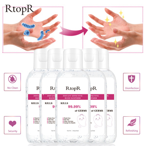 Image 1 - 5PCS Hand Sanitizer Disposable Quick dry 99.9% Antibacterial Disposable Disinfection Gel Portable Wipe Out Bacteria 75% Alcohol