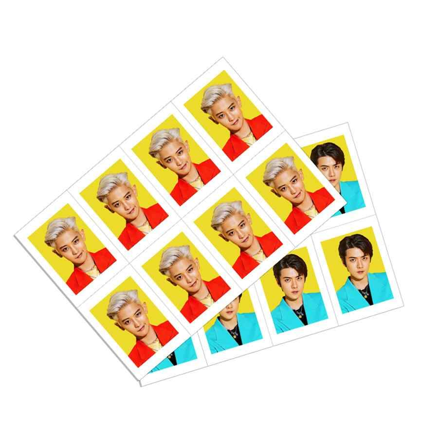 Kpop EXO SC School ID Photo Sehun Chanyeol What a Life Collective Cards Uniform Photocard 8pcs.jpg q50