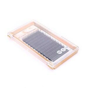 Image 5 - 9 Faux vison Extension de cils C D DD L cils individuels mat noir russe Volume marque privée cils maquillage outils