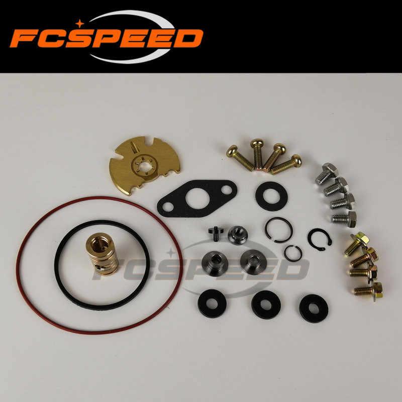 ターボチャージャー修理キット GT2056V 751243 14411-EB300 ターボ再構築キット日産パスファインダー Navara 2.5DI 174HP 128Kw QW25 2005