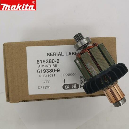 Makita 619380-9 Armature For DF482D DDF482RME DHP482RME DDF482RFE DDF482Z DDF482