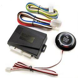 Кнопка запуска двигателя автомобиля, стартер зажигания без ключа, кнопка запуска двигателя, кнопка запуска, кнопка дистанционного запуска ...