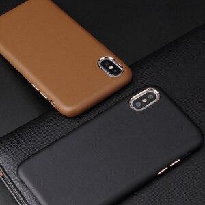Image 3 - حافظة هاتف جلدية بتصميم رسمي لهواتف أبل آيفون 11 برو ماكس 2019 جديد XS XR X 8 7 6 6S Plus 11pro Xsmax