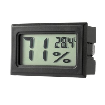 цена на Mini Digital LCD Temperature Sensor Humidity Meter Thermometer Hygrometer Measuring Gauge  White/Black