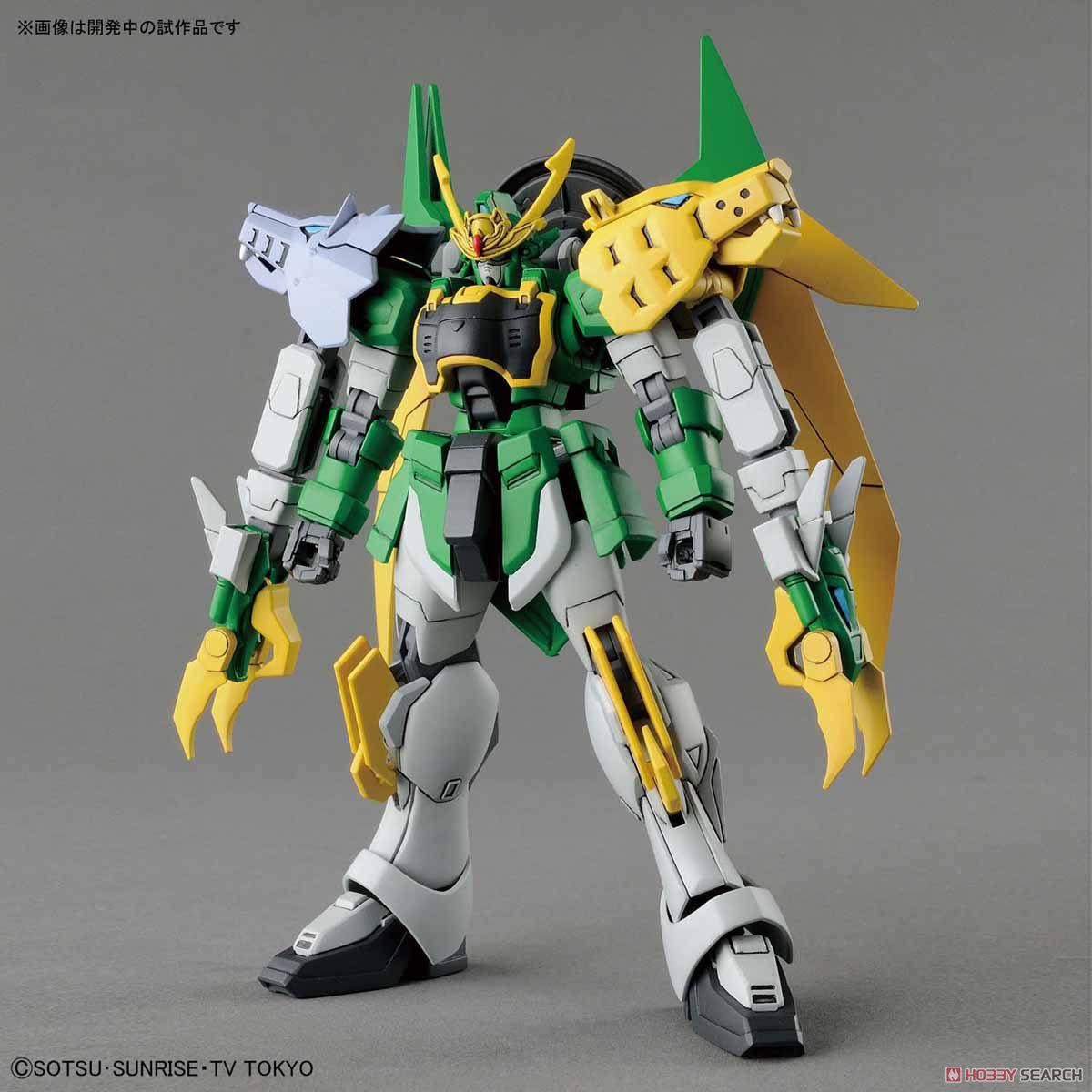 HG HGBD 011 1/144 Wolf Tiger, Double-headed Dragon, Gundam, Creater, Assembled Model