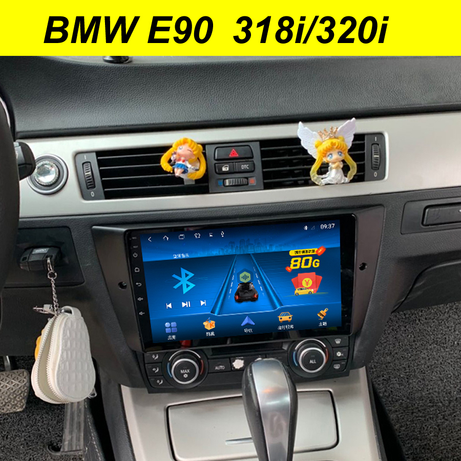 64GB Android 10 2Din Car Dvd Multimedia Player <font><b>GPS</b></font> For BMW <font><b>E90</b></font> 3 Series 318i 320i Navigation Bluetooth Stereo Wifi BT Head Unit image