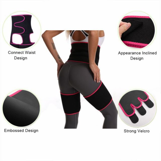 Sweaty Waist Support Belt Widening Yoga Fat Burning Belly Belt Running Leggings Stuffy Sweat Heat Shaping Belt 2