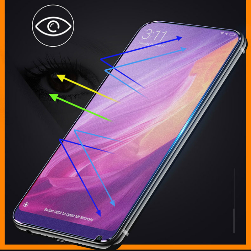 JGKK Frosted Anti-blue Ray Full Cover Matte Screen Protector Tempered Glass For Xiaomi Mi 1
