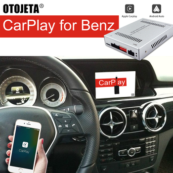 Apple CarPlay Android Auto Car Upgrade Screen For Benz GLK300 GLK260 GLK200 GLK350 2015 GLK 300 Audio GPS Multimedia Head Unit image