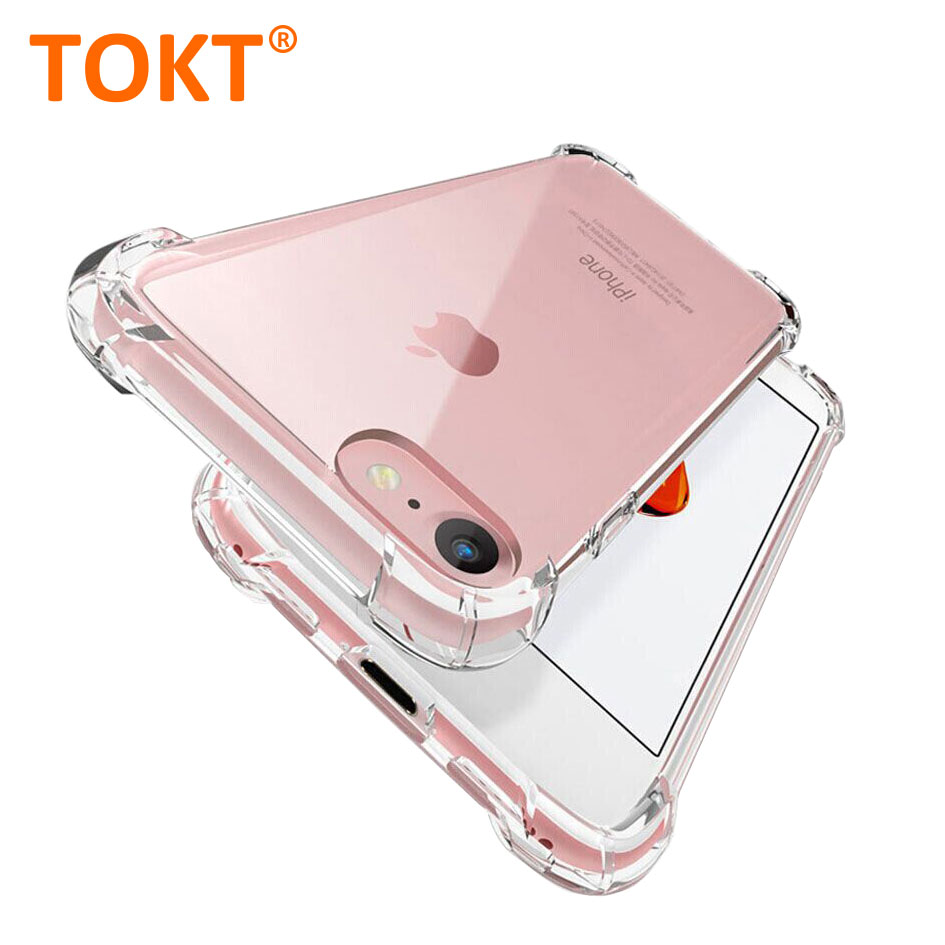 Shockproof Silicone Phone Case For iPhone 6 7 8 plus X XR Max 11 pro Max Case Transparent Protection Back Cover for iphone case